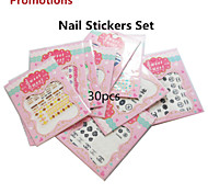 30pcs/set Nail Art Sticker