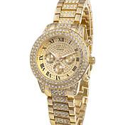 montre de charme la montre-bracelet à quartz de quartz des femmes