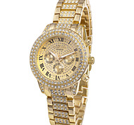 Frauen-Charme-Uhr-Quarz-Quarz-Armbanduhr