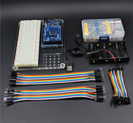 MEGA 2560 R3 Experiment Platform Carry Pouch Kit for Arduino-- transparent +Green
