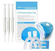 blanquean el kit con el 35% de peróxido de sistema económico blanqueador bucal dental individual