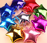 10 pezzi palloncini decorazione stella di Natale partito