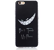 новые модели зуба волны скольжения ручка ТПУ мягкий чехол для iphone телефона 6 плюс / 6с плюс