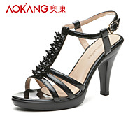 Aokang® Women's Leatherette Sandals - 132812086