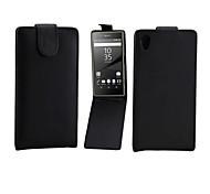 PU Leather Up Down Flip Mobile Skin Case Cover For Xperia Z5 Compact/E5803,E5823,Xperia J5 Compact