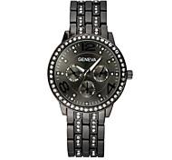 Women's watches Fashion Crystal Strip Quartz geneva Watch