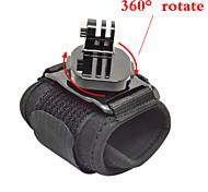 gopro accessori 360 gradi cinghia da polso black edition per go pro eroe 1234 telecamera xiaomi yi sjcam sj6000