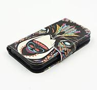 neueste Flip-Cover farbige Zeichnung Einbauschlitzunterstützung weisepu Handy Shell für Samsung-j1