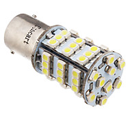 2pcs 1156 BA15S 3,25 W 216LM 54x3528SMD 6000K luce bianca fredda LED Lampadina auto (12V)