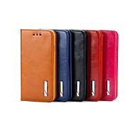 2015 Fashion Smoothy Genuine Leather Cover for iPhone 4/4S