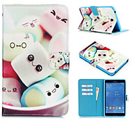 Novelty Cartoon PU Leather Folio Case Shockproof Case for Galaxy Tab A 8.0/Tab 4 10.1/Tab 4 7.0/Tab A 9.7