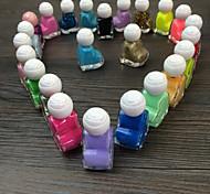 10pcs Liebe-Nagellack zufällige Farbe