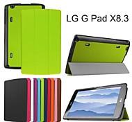 protettivo casi tablet cuoio della staffa casi fondina per lg GPAD x 8.3