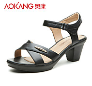 Aokang® Women's Leather Sandals - 132812103