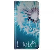 Big Dandelion Pattern Cell Phone Leather For iPhone 6/6S