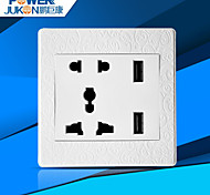 USB CHARGING SOCKET WELL(CARVED WHITE)