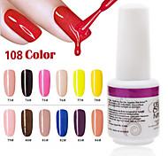 1PCS 9ml UV Color Gel Phototherapy Glue Nail Polish73#-84#