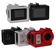 CNC châssis en alliage d'aluminium étui de protection w / UV len pour sj4000 caméra sj4000wifi de sj6000
