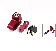 Motorcycle Bike Bicycle Anti-theft Alarm Disk Disc Brake Lock w 2 Key