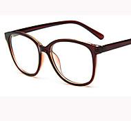 [Free Lenses]   Unisex 's Acetate/Plastic Square Full-Rim Retro/Vintage Prescription Eyeglasses