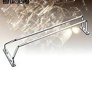 estilo contemporâneo weiyuwuxian® única linha de ferro sólido copo de vinho rack titular