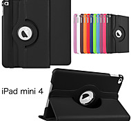 Protective Tablet Cases Leather Cases Bracket Holster for iPad Mini 4(Assorted Colors)