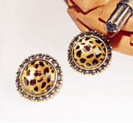 Top Sale Bohemia Vintage Wholesale Women Alloy Leopard Stud Earring