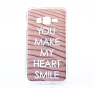 YOU MAKE Pattern TPU Soft Case for Multiple Samsung Galaxy J2/J3/J7/E7