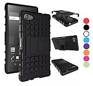 2 в 1 двойной цвет съемный PC + TPU гибрид случае с подставкой для Sony Xperia z5 компактные (разных цветов)