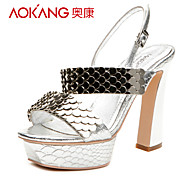Aokang® Women's Leather Sandals - 342818038