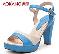 PU sandales femmes aokang® - 132811238