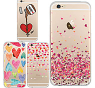 MAYCARI®Love Around Us TPU Back Case for iPhone 6/iphone 6S(Assorted Colors)