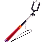 Wired Self Portrait Monopod Adjustable Stick Pole with Remote Button Shutter for iphone Andriod
