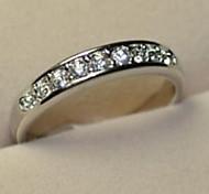 Simple Rhinestone Alloy Fashion Rings Tail Ring