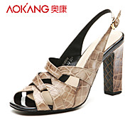 Aokang® Women's Leather Sandals - 132818008