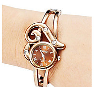 Women's Charm Rhinestone Gold Bracelets Fashion Jewelry Bracelets Wristwatches