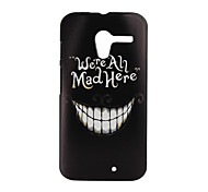 Smiling Teeth Pattern PC Hard Cover Case for Motorola  MOTO X