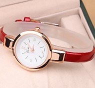 Simple and elegant fine leather strap quartz watch Cool Watches Unique Watches Fashion Watch