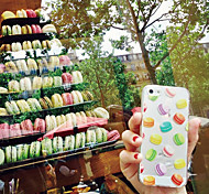 maycari® die Welt der Macarons transparente weiche TPU zurück Fall für iPhone 6 Plus