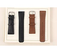 Newest Fashion Cow Leather Watchband for Apple Watch 38/42mm Assorted Colors