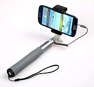 Selfie Stick RK-90E Connect With Mobile By Cable For IOS/Android Phone