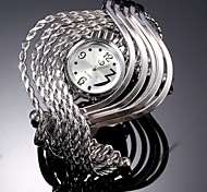 Wave bracelet watch