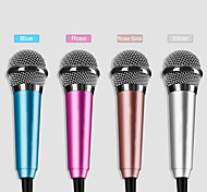 Portable 3.5mm Jack Mini Microphone for iOS / Android / Computer (Assorted Colors)