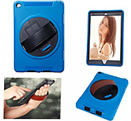 Three Flying Wheel Belt stent PC TPU Materials Leather Full Body Case for iPad Air 2(Assorted Colors)