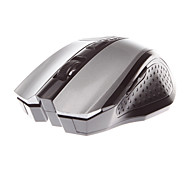 MJT JT3236 Wireless Mouse Optical Mouse 2.4GHz 1600DPI  5 keys Design Silver