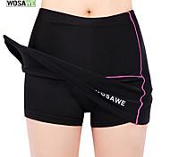 WOSAWE New Womens Girls Cycling Shorts Mini Skirt Bike Bicycle Ladies Skirt Shortpants Black
