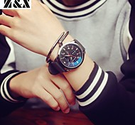 Men's Fashion Big Watch Personality Silicone Quartz Analog Sport Watch(Assorted Colors)