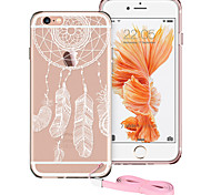 esr® protezione totem serie antiurto angolo TPU + duro del pc posteriore Case for iPhone 6 / 6s più-Dream Catcher