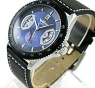 Single Calendar Automatic Mechanical Watch Fashion Watch Leather Wrist Watch Foreign Trade Mechanical Men'S Watch Cool Watch Unique Watch