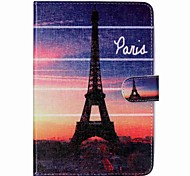 Eiffel Tower Folio Leather Stand Cover Case With Stand for iPad Mini 3/2/1
